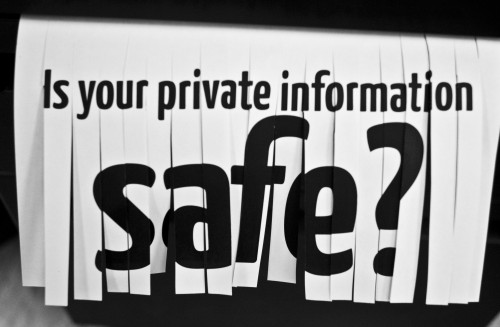 is your private information safe?